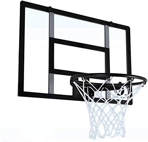 qiuqiu Iron Frame Basketball Board - Wandhalterung Für Erwachsene Indoor Outdoor Kinder Backboard Basketballkorb, Faltbare Wandmontage Basketballplatte