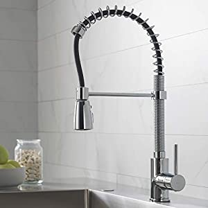 Kraus KPF-1612 Single Lever Pull Down Kitchen Faucet
