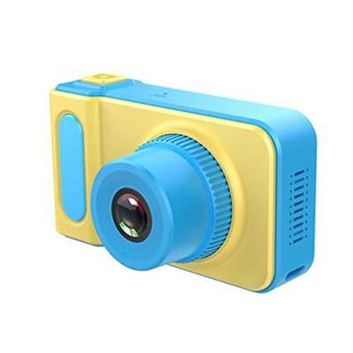 FXNB Kinder-Digitalkameras, Mini-Spielzeug können Bilder wiederaufladbare Kamera Nehmen Sich zum Kind-Baby-Geschenke Geburtstags-Geschenk neuen Jahr-Geschenk, für Spiele im Freien,Blau