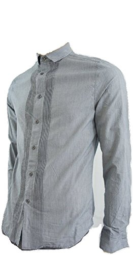 Linea - Chemise casual - Homme - Bleu - Small