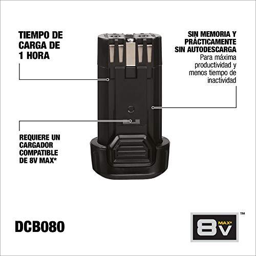 DEWALT 8V MAX Battery (DCB080)