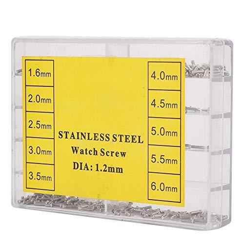 Uhrenkreuzschraube für Armbanduhr Elektro Handwerkzeuge Mess Planwerkzeuge Uhrgehäuse Uhrmacherzubehör 1.6 6.0mm Edelstahl
