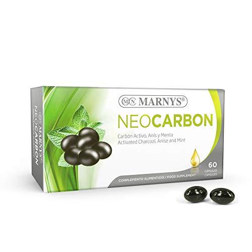 MARNYS Neocarbón Alivio Exceso de Gases Carbón Activo 60 Cápsulas