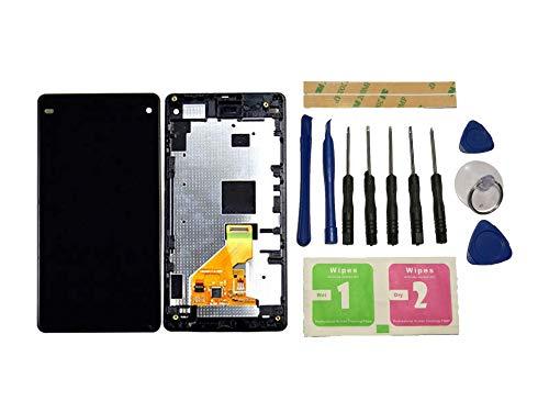 Flügel für Sony Xperia Z Ultra / XL39 Display LCD Ersatzdisplay Schwarz Touchscreen Digitizer Bildschirm Glas Komplett Einheit mit Rahmen Ersatzteile & Werkzeuge & Kleber