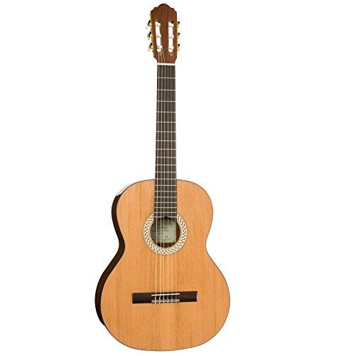 Kremona. Klassische Gitarre, S53C Soloist Serie Sofia 1/2, Solid Red Cedar, Sapeli Laminat, Afrikanisches Mahagoni. Seit 1924. Bulgarien