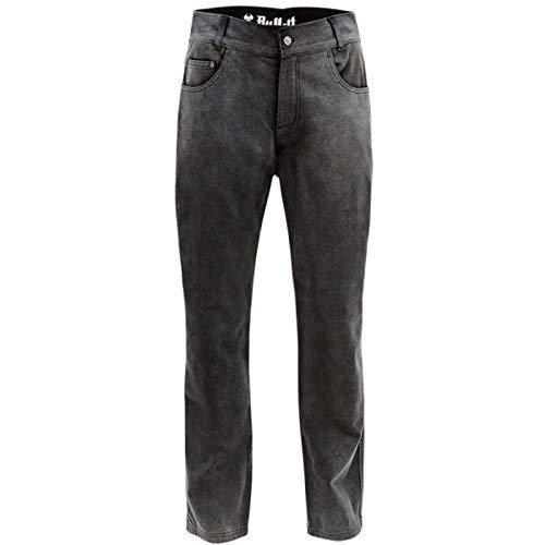 Bull-it Herren Motorrad Jeans Asch- SR6 Schwarz Regelmäßig Länge - grau, 32/W38