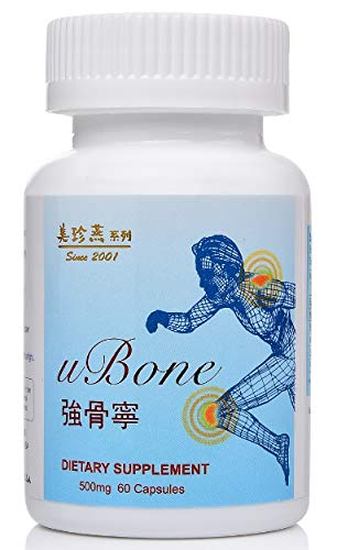 uBone: Dietary Supplement/Support Healthy Body Structure/ 60 Capsules/Bottle