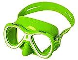Seac Elba Maske Zum Schnorcheln Und Tauchen, grün, One Size