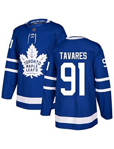 Shjfl NHL Mitch Marner 16/ Auston Matthews 34 / William Nylander 29/ John Tavares 91 Toronto Maple Leafs Eishockey-Spieltrikots Für Herren Tmungsaktiv Ultraleichte Langarm Sportbekleidung