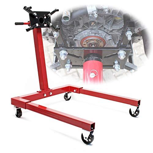 Cavalletto motore Supporto trasmissione Sollevatore del motore fino a 570kg Piattaforma elevatrice