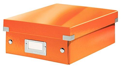 Leitz, Kleine Organisationsbox, Orange, Click & Store, 60570044
