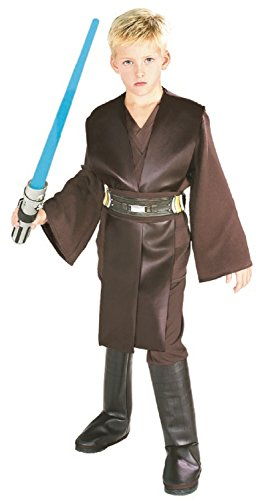 Star - Disfraz de Anakin Skywalker Wars para niño, talla S (3-4 años) (882017_S)