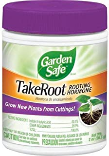 Garden Safe TakeRoot Rooting Hormone for Plants, 2-Ounce (1 Pack) Made in USA