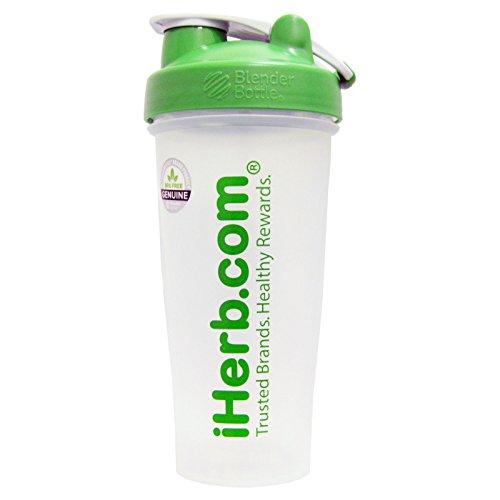 Botella Blender con licuadora Ball, verde 28oz–iHerb mercancías
