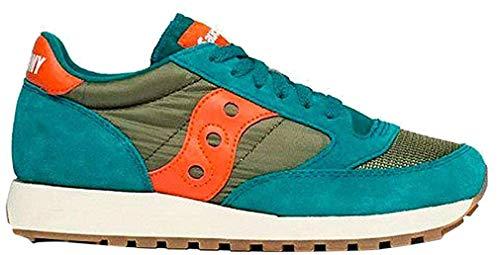 Saucony Damen Jazz ORIGINAL Vintage Low-Top Sneakers, Blau (Azul 113), 40 EU