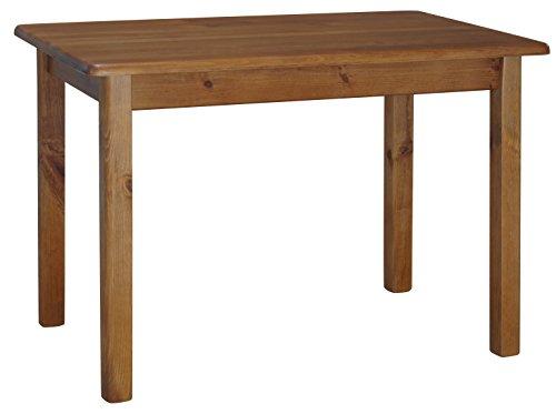 koma Esstisch Küchentisch 100 x 60cm Speisetisch Kiefer Tisch massiv Restaurant Hersteller NEU (Eiche)