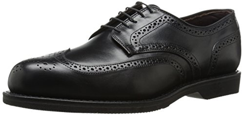 Allen Edmonds Men's LGA Oxford, Black, 10.5 D US