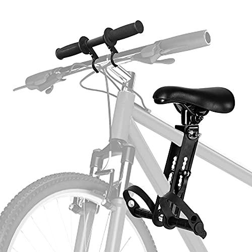Kindersitz Fahrrad Mountainbike,4YANG Vorne Montierte Fahrradsitze Kinderfahrradsitz mit Lenkerbefestigung Abnehmbarer Vorneliegender Fahrradsitz für Kinder von 2 Bis 5 Jahren bis Zu 48 Pfund