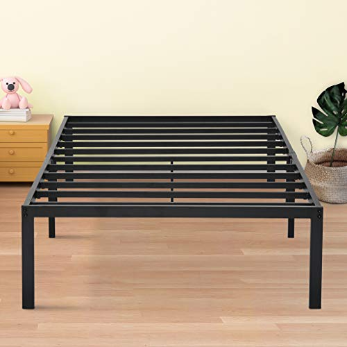Olee Sleep VC14BX06X Bed Frame, Twin XL, Black