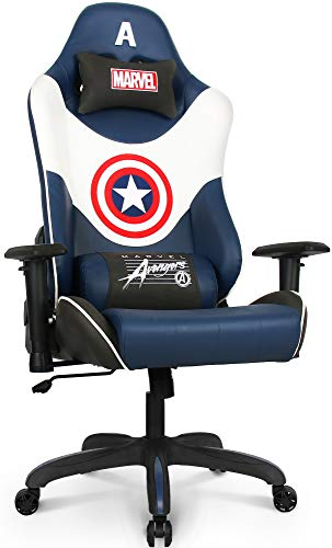 Marvel Avengers Gaming Chair Desk Office Computer Racing Chairs -Adults Gamer...