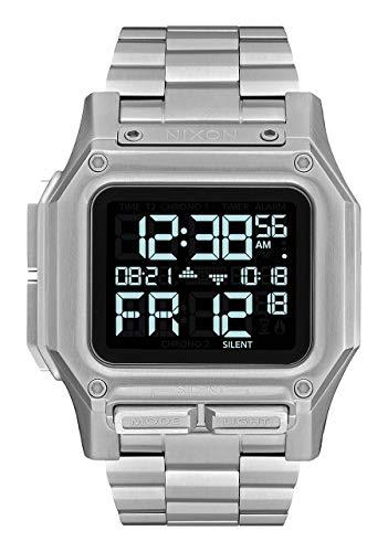 Nixon Regulus SS A1268 - Black - 100 Meter/10 ATM Water Resistant Men's Digital Watch