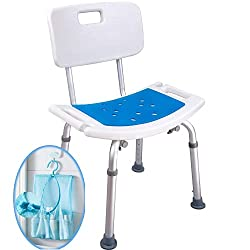 Medokare Padded Shower Chair with Back