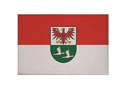 U24 Aufnäher Landkreis Oberhavel Fahne Flagge Aufbügler Patch 9 x 6 cm