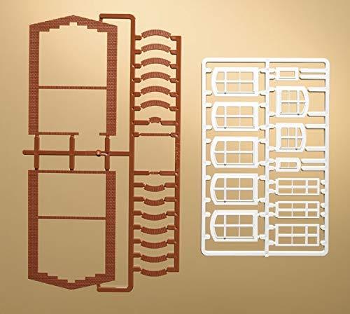Auhagen 41615.0 - Fensterbögen und Fenster, bunt