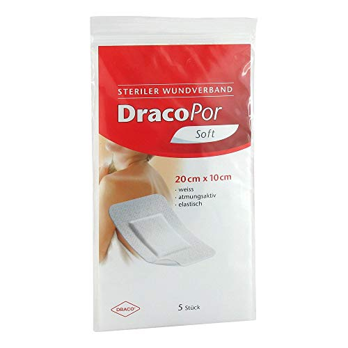 DRACOPOR Wundverband 10x20 cm steril, 80 g