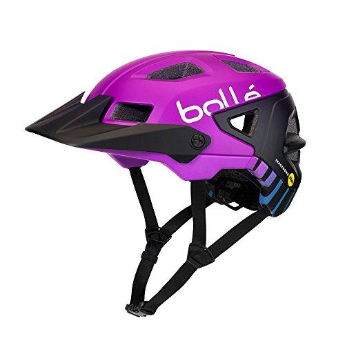 Bollé Erwachsene Trackdown MIPS Cycling Helme, Purple Gradient, 55-59 Cm