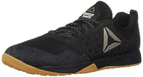 Reebok Men's CROSSFIT Nano 6.0 Climbing Shoe, Black/Gum, 9.5 M US