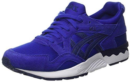 Asics Herren Gel-Lyte V Laufschuhe für Das Training auf Der Straße, Mehrfarbig (Asics Blue/Indigo Blue), 42 EU