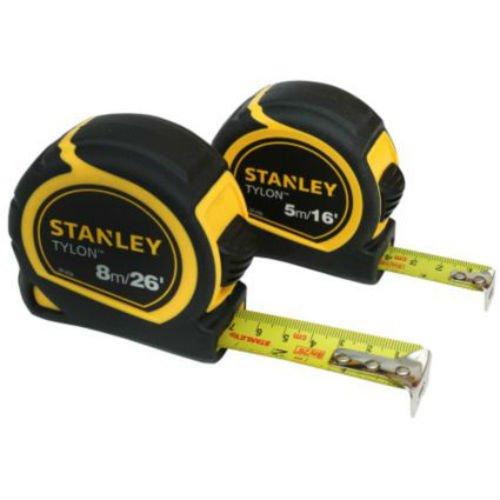 Stanley Tylon 5M & 8M meetlint, 2 stuks