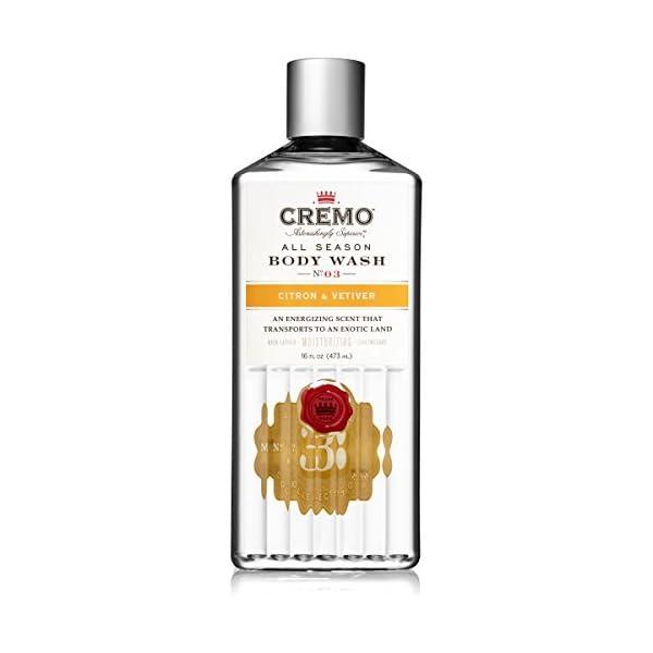 Cremo All Season Body Wash - Citron & Vetiver, 16 ounce 1