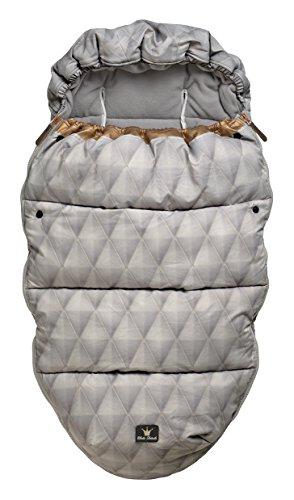 Elodie Details–Saco/bolsa de cochecito (Dorado), color gris