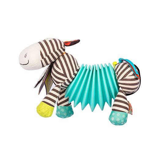 TWW Kinderakkordeon, Zebra, Säugling, Baby, Musik, Erleuchtung, Musikinstrument, stimmtröstliches Spielzeug, 1-6