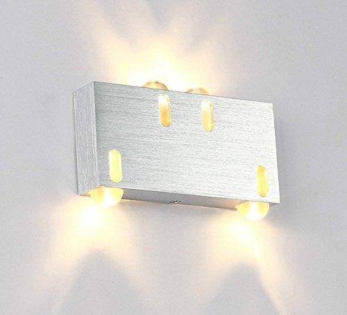 LED Mur Extérieur Lampe Étanche Lampe de Chevet Chambre Salon En Plein Air Allée Mur Lampe Balcon Escaliers Jardin Applique , 1
