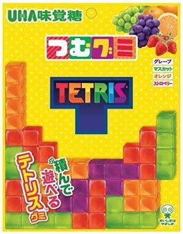 味覚糖「つむグミ TETRIS」X1箱(6袋入)