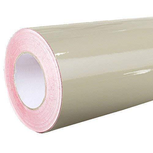 4,75€/m² Rapid Teck® Glanz Folie - 082 Beige - Klebefolie - 5m x 63cm - Plotterfolie- Folie selbstklebend - auch als Moebelfolie - Klebefolie