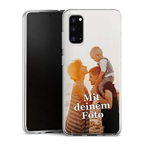 DeinDesign Silikon Hülle kompatibel mit Samsung Galaxy S20 Handyhülle Case Selbst Gestalten Personalisieren Zum Anpassen