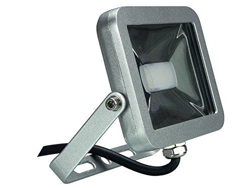 Perel Design Spot à LED 10 W, 19 x 6,5 x 14,5 cm, Argent, leda4 01ww de SG