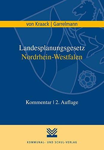 Landesplanungsgesetz Nordrhein-Westfalen: Kommentar