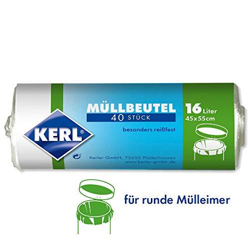 Kerl 4003450030036 - Bolsas de basura 16 L