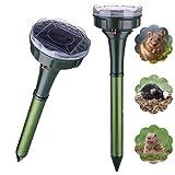 NAIYO Solar mole repellent,Solar snake Repellent for Outdoor,solar...