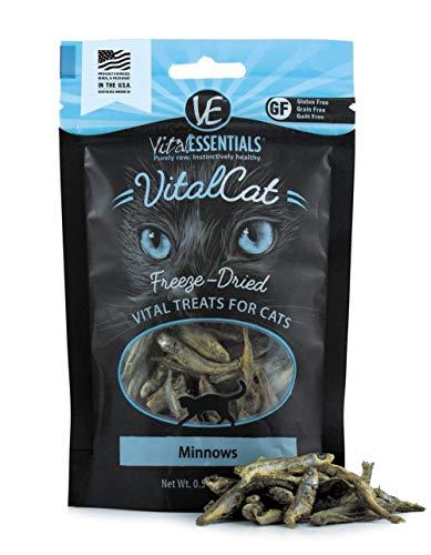 Vital Essentials Cat Freeze-Dried Minnows Treats - 0.5 oz. by Vital Essentials