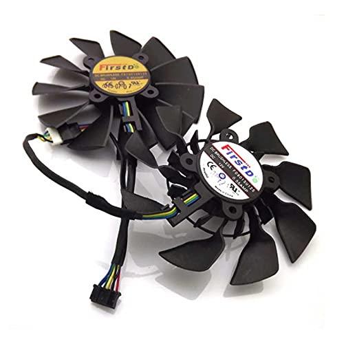 A set 12V 0.55A 94mm VGA Fan 28x28x28x28mm 5Pin For ASUS GTX780 GTX780TI R9 280X 290X Graphics Card Cooling Fan