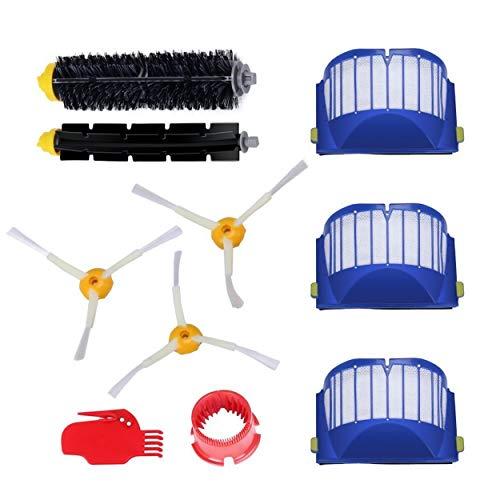 Ersatzteile für iRobot Roomba 600 Serie Wartungskit Reinigungskit für 585 595 600 605 610 611 612 615 616 620 625 630 631 632 639 650 651 660 670 680 681