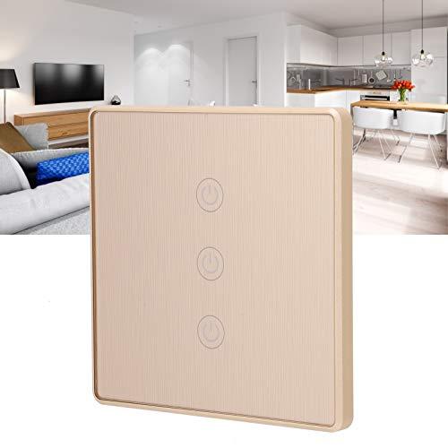 Interruptor táctil, interruptor inteligente inteligente Interruptor táctil para oficina para el hogar