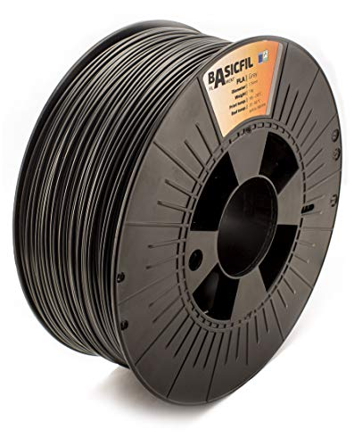 BASICFIL PLA 1.75mm, 1 kg, 3D printing filament , Grey