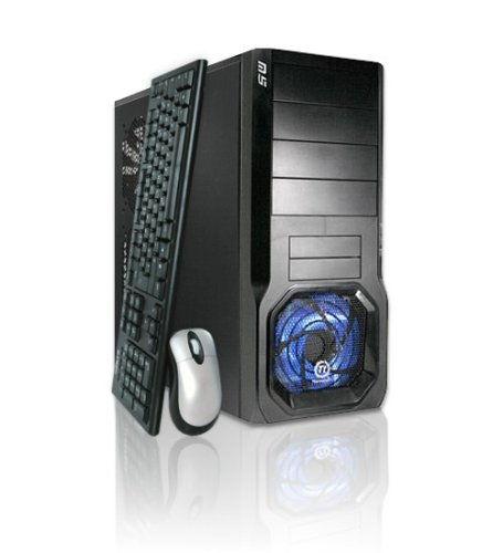 VCM Wonder Giga 7 Desktop PC (Intel Core 2 Quad Q6600 2,4GHz, 4GB RAM, 500GB HDD, nVidia Geforce 9500 GT, DVD+- DL RW, Vista Home Premium)
